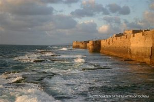 Acre - sea wall - MOT picture