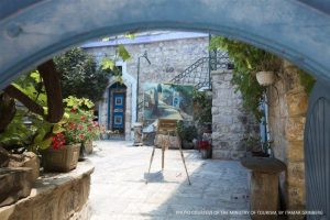 Safed - art gallery - MOT picture by Itamar Grinberg