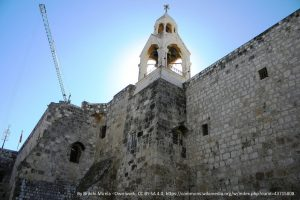 Bethlehem - Church_of_the_Nativity - picture from Wikimedia by Britchi Mirela