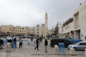 Bethlehem - Manger Square 2 - picture from Wikimedia