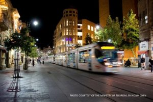 Jerusalem light rail - MOT picture by Noam Chen
