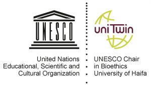 UNESCO Chair in Bioethics logo