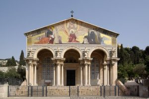 Jerusalem - Church of all Nations - wikimedia picture by Berthold Werner